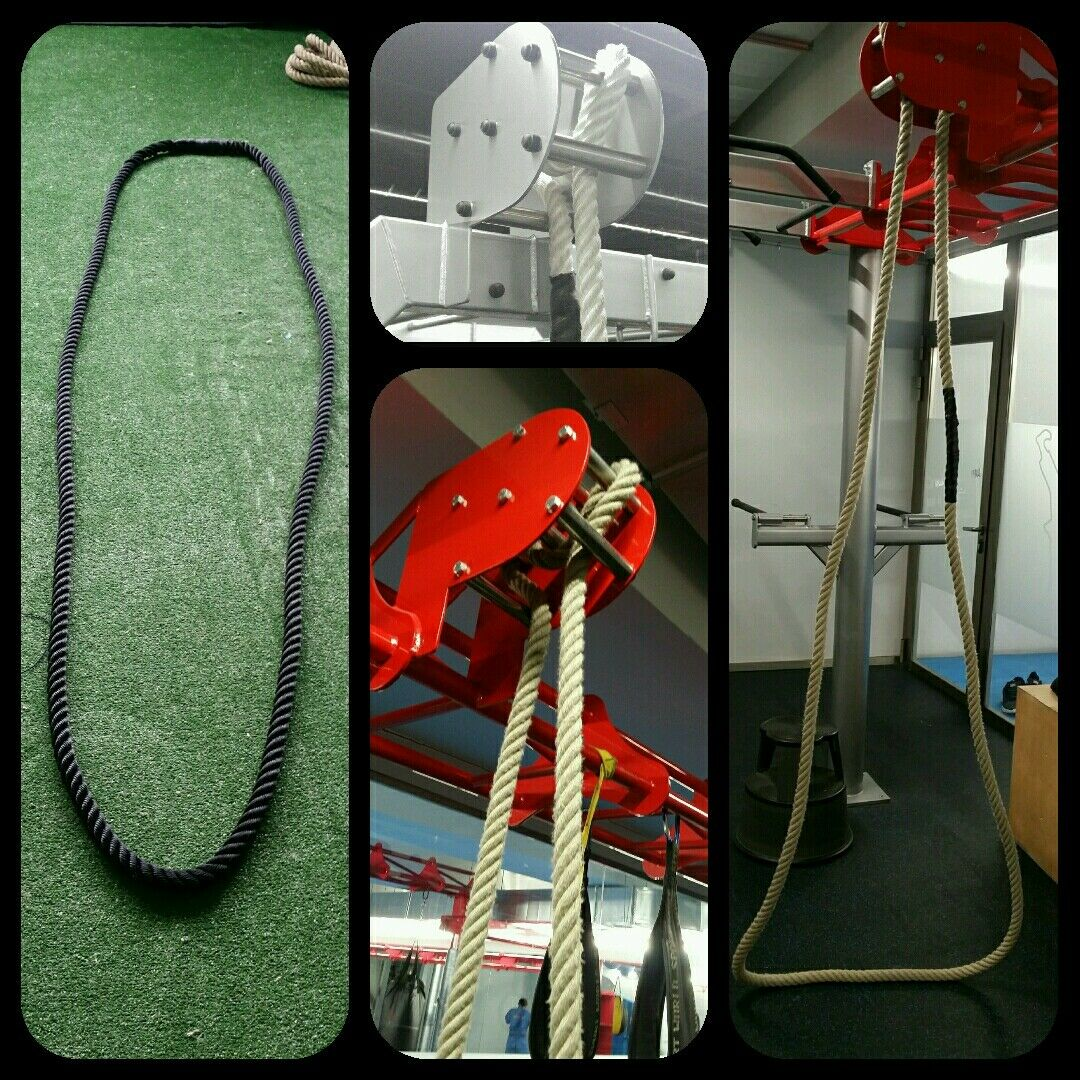 Cuerda 30mm ( 3cm ) x 6 mts soga maroma crossfit escalar circular redonda trepa