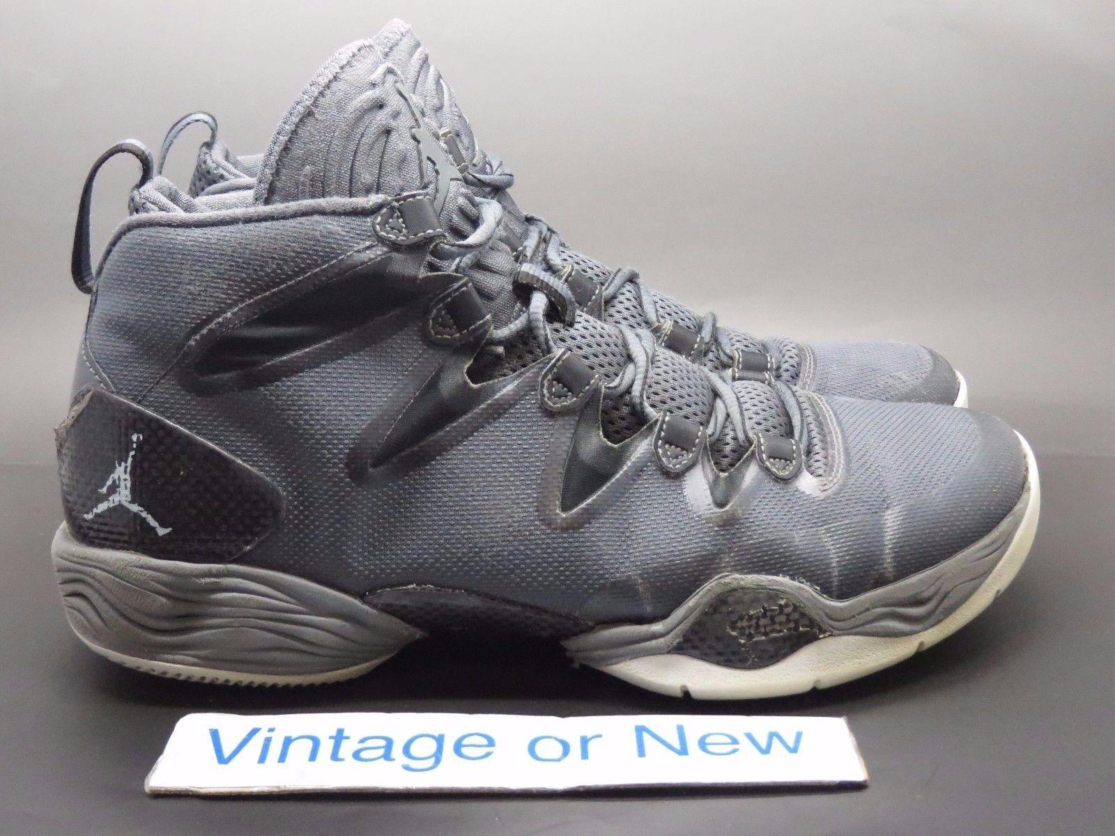 Air Jordan 28 xx8 28 Jordan se gris oscuro blanco negro gris fresco reducción de precio el mas popular de zapatos para hombres y mujeres f08510