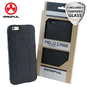 Magpul Field Polymer Phone Case For iPhone SE 2nd Gen/8/7/6s/Plus+Tempered Glass