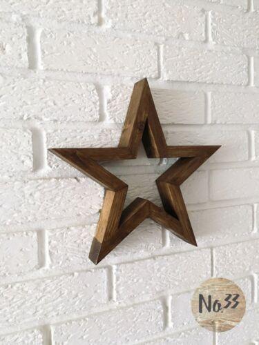 Handmade étoile en bois