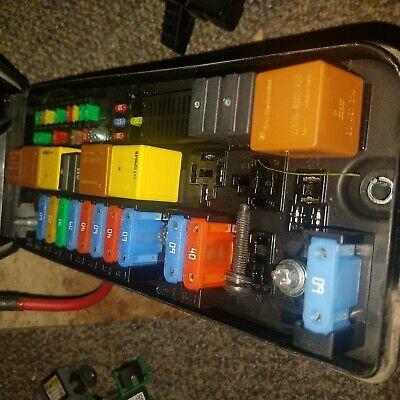 fuse box on saab 93 saab 9 3 93 07 11 2 0l under hood front fuse box relay panel  under hood front fuse box relay panel
