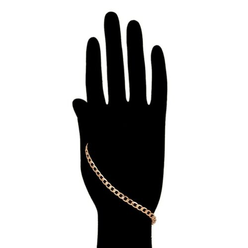 """9ct 9K Rose/""""Gold Filled/""""Young Boy Girl Curb Ring link 8.3/"""" Bangle Bracelet.850"""