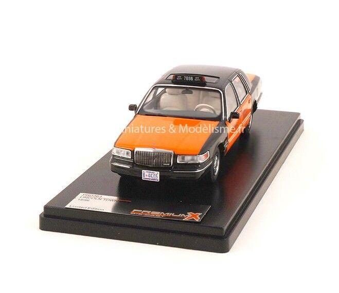 TAXI LINCOLN TOWN CAR USA jaune CAB 1966 1 43 IXO PREMIUM