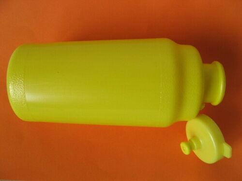 """Trinkflasche gelb /""""Made in Italy/"""" Roto 600 ml Fahrradflasche Lebensmittelecht"""