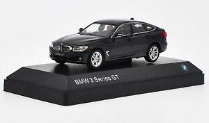 1-43-BMW-3-Series-GT-Black-DieCast-Model-Collection