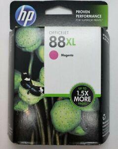 New-Genuine-Hp-88XLMagenta-Ink-Cartridge-Factory-Sealed-Expired-06-2015