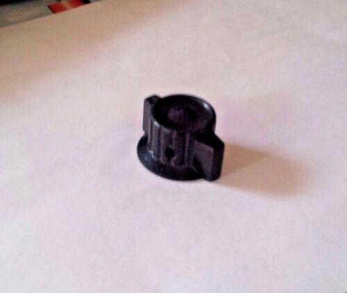 "SKIRTED BAKELITE KNOB POINTED side screw *1//4/"" SHAFT* 10 pieces"