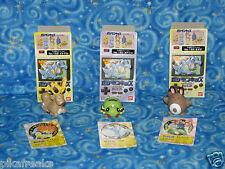 New Pokemon Kids Series 2 Bandai 1999 Toys Stantler Spinarak Sentret USA Seller