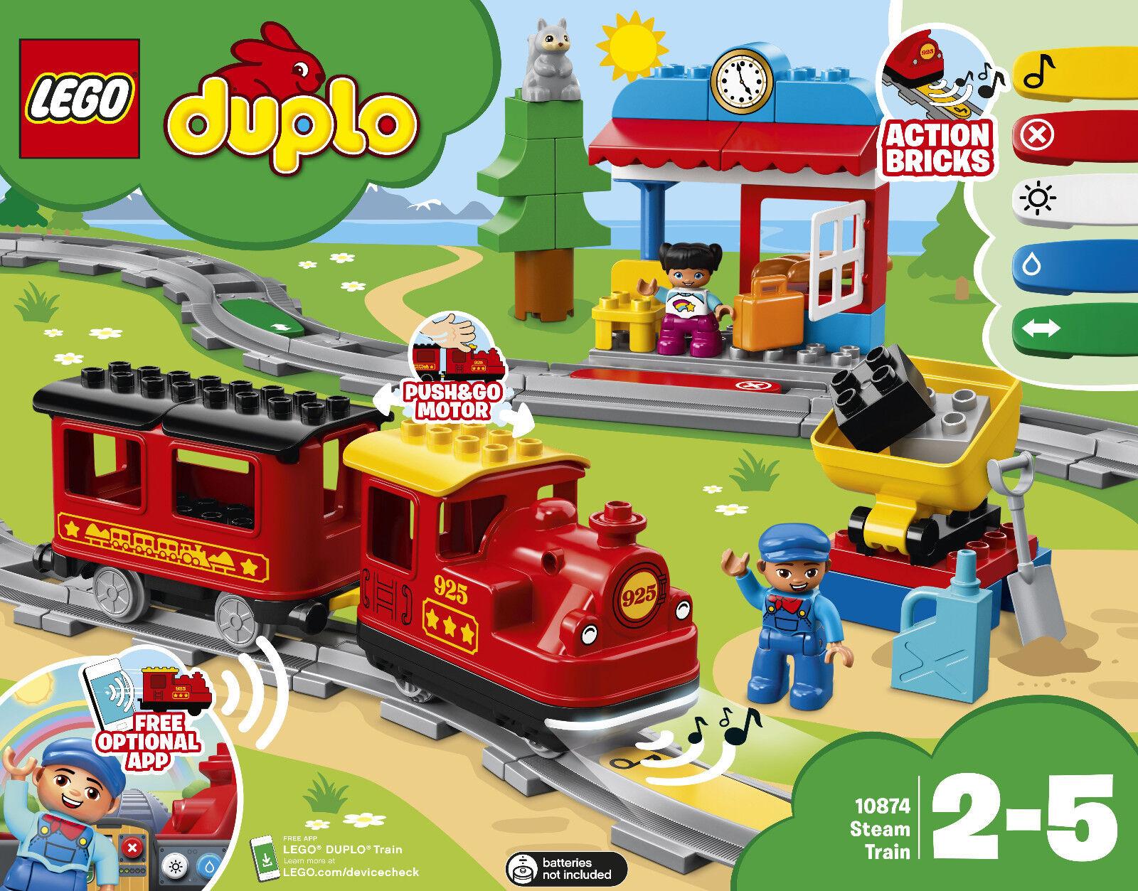 LEGO ® DUPLO ® 10874-vapeur, NOUVEAU Neuf dans sa boîte