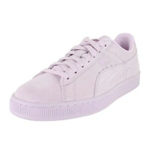 00eb9cf65d79 PUMA SUEDE CLASSIC EMBOSS WNS LILAC SNOW 363056 08 WOMENS US SIZES ...