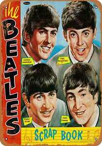Vintage Look Reproduction Metal Sign 1964 Beatles All Our Best