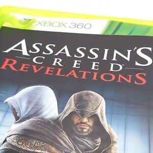 (Tested) Assassin's Creed: Revelations - Xbox 360 Game (With Manual)