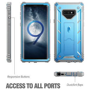 For-Samsung-Galaxy-Note-9-Rugged-Case-Poetic-Revolution-Full-Body-Cover-Blue