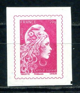 ADHESIF-N-1656A-20-Gr-LETTRE-SUIVIE-MARIANNE-L-039-ENGAGEE-NEUF