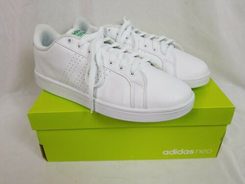 Adidas AW3914 NEO Cloudfoam Advantage White LEATHER S… - Gem