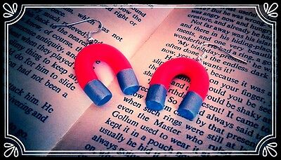 Aldi Ads Handmade Fimo Christmas stocking filler  ** ** Baby Carrot earrings