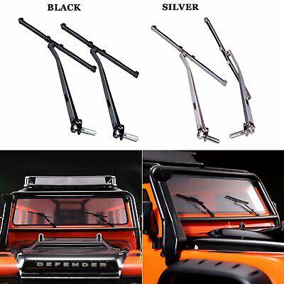 Metall Scheibenwischer Wischblatt Wipers für RC Traxxas TRX4 Land Rover Defender