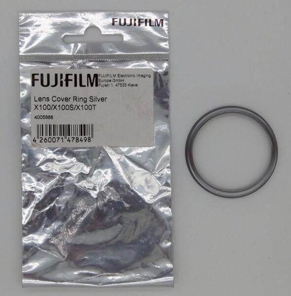 Fujifilm Bague Protection Filetage Pour X100 Silver