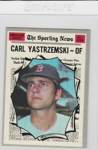 1970 Topps #461 Carl Yastrzemski Boston Red Sox Baseball Card Verzamelkaarten: sport Honkbal