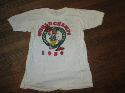 Anti shirt Finale Années Mondial 80 Lakers Rare Celtics Doux Boston Vtg Nba Tee cq45RAjL3S