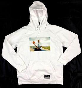 Details about Nike Air Jordan He Got Game HGG Pullover Hoodie White AV6352 100 Men's XL