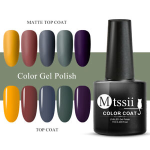 Mtssii Holographic Glitter Color UV Gel Autumn Series