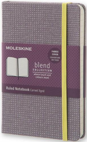 MOLESKINE Ruled Notebook blend collection Notizbuch liniert 14x9cm violett NEU