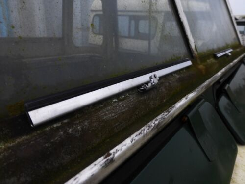 """10/"""" 255mm Stainless Steel Flat Windscreen Wiper Blade Classic Kit Car Tractor"""