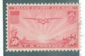 US-C-21 and C-22 TRANSPACIFIC ISSUES 20c&50c issued 1935 MINT  HINGED