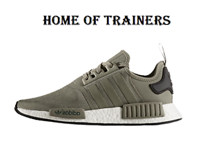 promo code 1833a 6ad79 Adidas Adidas NMD R1 Olive Cargo Pack Trainers BA7249 (PTI) | eBay