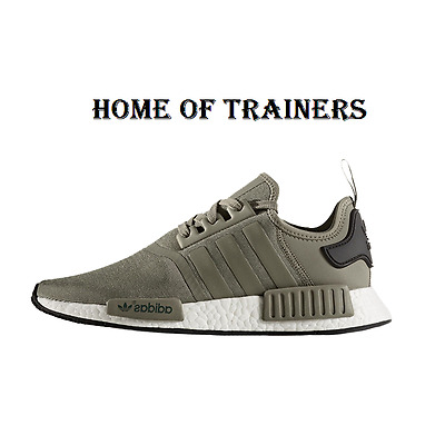Adidas Adidas NMD R1 Olive Cargo Pack Trainers All Sizes Available ( BA7249  )
