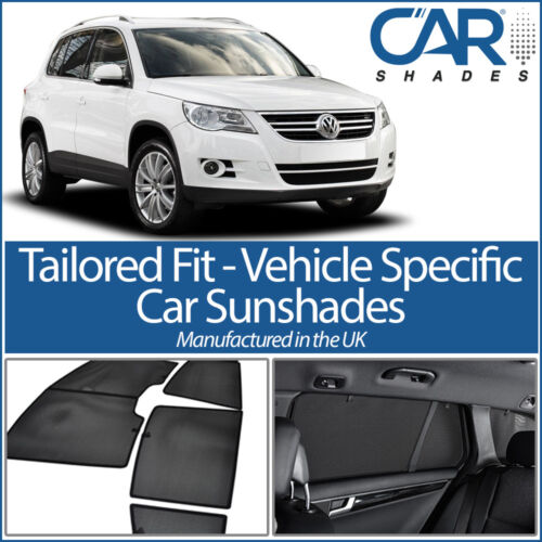Volkswagen Tiguan 5dr 2008-16 UV CAR SHADES WINDOW SUN BLINDS PRIVACY GLASS TINT