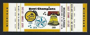 1981-NCAA-MICHIGAN-WOLVERINES-PURDUE-BOILERMAKERS-FULL-UNUSED-FOOTBALL-TICKET