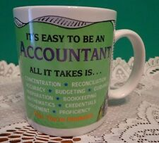 Coffee Cup Its Easy to Be An Account Mug Ganz