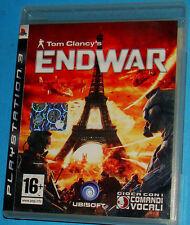 Tom Clancy's Endwar - Sony Playstation 3 PS3 - PAL