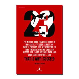Detalles Acerca De Michael Jordan Motivacionales Lona Carteles Art Prints Imágenes 8x12 24x36 Pulgadas Mostrar Título Original