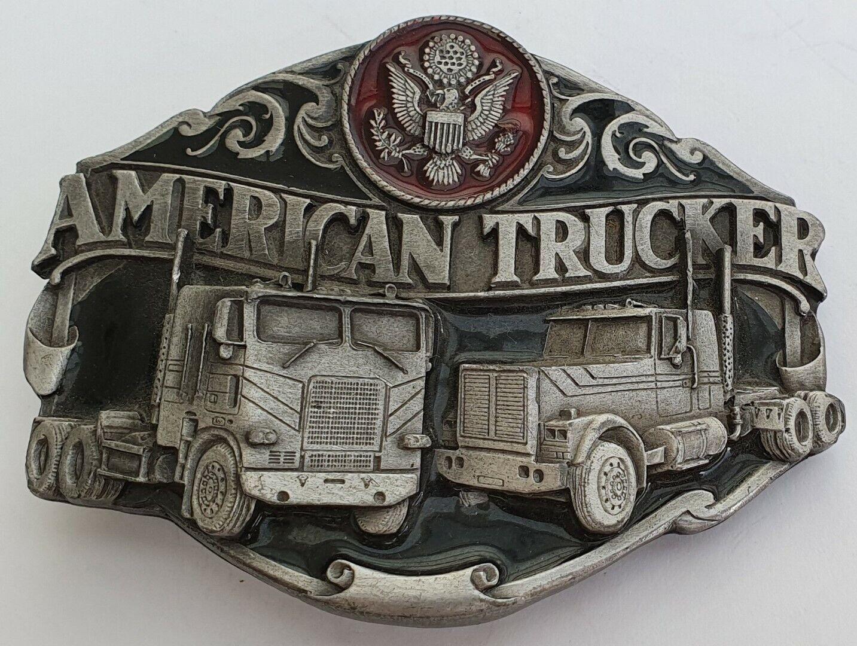 (1) Gürtelschnalle Truckers Move America* ©SISKIYOU USA Gürtelschnalle Neu