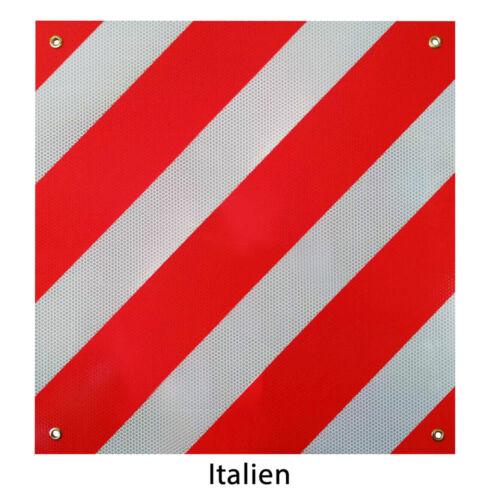 Warntafel para españa e italia proyectar reflejos 50cm aluminio colgante
