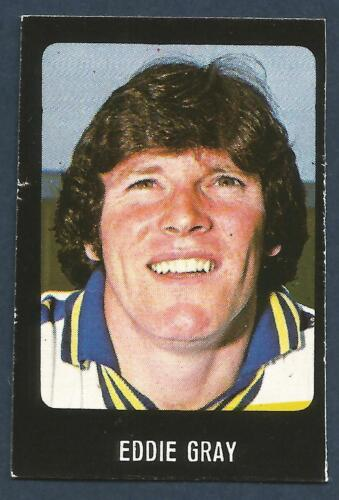 TRANSIMAGE FOOTBALL 79//80-#146-LEEDS UNITED /& SCOTLAND-EDDIE GRAY