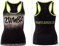 Zumba Fitness Dance Instructor Racerback Top Shirt Tank Tee -fr.convention Rare