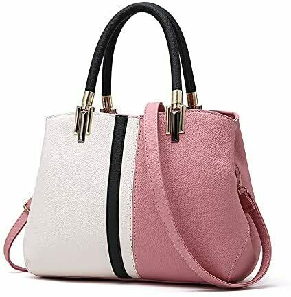 [All Day Shining] Handbag Shoulder PU Leather Clean Party Business Office Casua