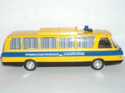 Polizeibus 1:43 # 05 Sammlung Russisches Modellauto von DeAgostini