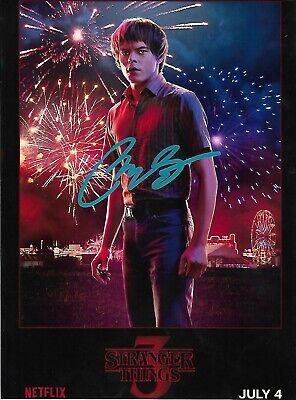 Charlie Heaton signed Autographed photo w//COA RARE Stranger Things