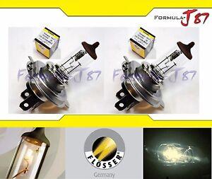 Flosser HS1 PX43t 35/35W 323543 Two Bulb Head Light Scooter ATV UTV Motor Bike