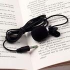 Portable Mini 3.5mm Tie Lapel Lavalier Clip Microphone for Lectures Teaching CC