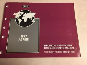 EVTM 1997 Ford Explorer Mercury Mountaineer Service Manual Set