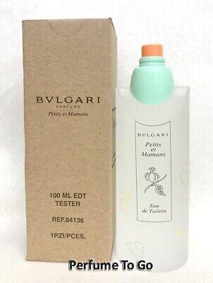 Bvlgari Petits Et Mamans 3 3 3 4 Oz 100ml Edt Spray New Tester In Box 783320841361 Ebay