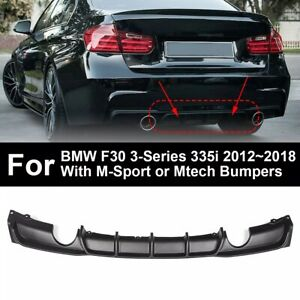 Difusor-Parachoques-Trasero-Protector-BMW-F30-3-Series-M-SPORT-Mtech-2012-2018