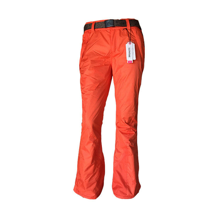 Brunotti LOYD TWILL Damen Ski/Snowboard Hose Snowpants Orange
