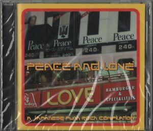 Peace-And-Love-A-Japanese-Punk-Rock-Compilation-CD-1996-Snuffy-Smile-Bands